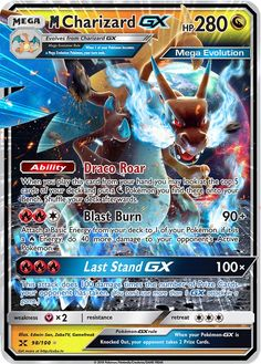 Mega Charizard GX Custom Pokemon Card The post Mega Charizard GX Custom Pokemon Card appeared first on Poke Ball. Pokemon Rayquaza, Pokemon Room, Pokemon Charizard, Pokemon Fusion, Pokemon Deck, Fake Pokemon Cards, Pokemon Cards Legendary, Pokemon Tcg Cards, Pokemon Cards