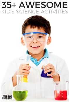 This is an article that provides a lot of fun science activities for the preschool setting.
