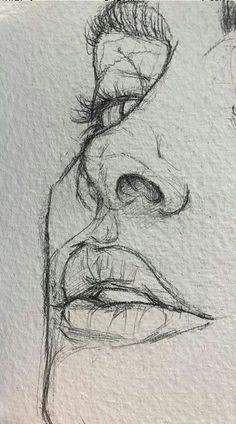 easy drawings for beginners / easy drawings . easy drawings for beginners . easy drawings step by step . easy drawings for kids . easy drawings for beginners step by step . easy drawings for beginners simple . Easy Pencil Drawings, Pencil Sketch Drawing, Cool Art Drawings, Art Drawings Sketches, Drawing Base, Disney Drawings, Indie Drawings, Drawing Tips, Face Sketch