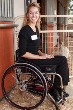 Rollstuhlgirl with Boots.>>> See it. Believe it. Do it. Watch thousands of spinal cord injury videos at SPINALpedia.com
