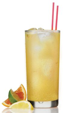 sangria blanca with perrier
