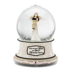 Modele Hope Musical Water Globe with Tune