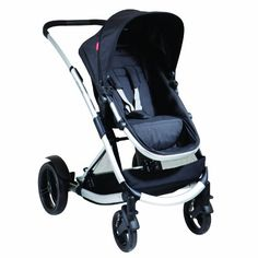 Phil & Teds Promenade Buggy Single Stroller Black