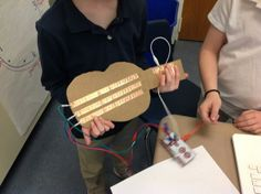 MakeyMakey Guitar   Josh Burker ‏@joshburker  51m Great 2nd grade #MaKeyMaKey guitar programmed in #Scratch. #makered pic.twitter.com/7PAaD6npeN