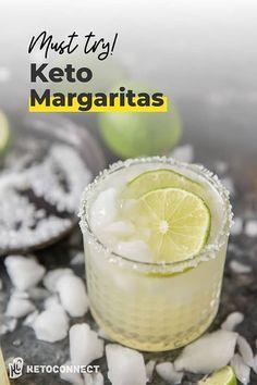 Margarita Alcohol, Skinny Margarita, Margarita On The Rocks, Low Carb Margarita Recipe, Margarita Recipes, Mixed Drinks Alcohol, Drinks Alcohol Recipes, Yummy Drinks, Drink Recipes