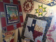 Lots of fun projects to make with the Quilt Across Texas 2013 fabric