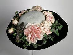 women's bonnet... 1898. LACMA Collections Online
