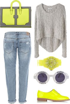 """""""outfit 61"""" by almoghatouel ❤ liked on Polyvore"""