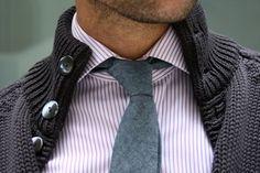 tie sweater combo
