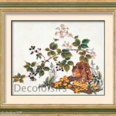 Thea Gouverneur Kit Point de Croix Compté Ecureuil-Counted Cross Stitch Squirrel sur Lish, € 57,20