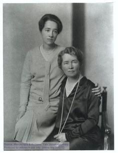 Anne Morrow Lindbergh and her mother, Elizabeth Cutter Morrow, The Manuscripts and Archives Digital Images Database (MADID) Anne Morrow Lindbergh, Charles Lindbergh, Us History, Digital Image, Famous People, Literature, Author, Singer, American