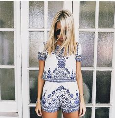 Summer outfit ideas for when it's too hot – glam radar Indie Outfits, Cute Outfits, Romper Pattern, Fashion Mode, Ladies Fashion, Daily Fashion, Boho Fashion, Fashion Jewelry, Street Style