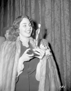 1944 - Iconic Oscar Dresses From the Year You Were Born - For one of my favorite movies, too: The Song of Bernadette
