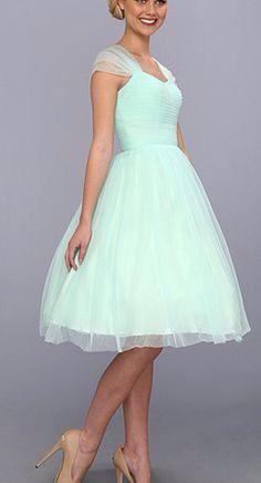 Mint tule dress! Love it!