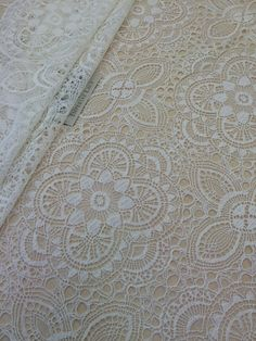 Ivory Lace Fabric French Lace Embroidered lace от ImperialLace
