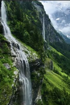 Scandinavian Countries, Waterfall, Country, Outdoor, Outdoors, Rural Area, Waterfalls, Country Music, Outdoor Games