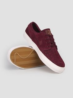 Sb Air Zoom Stefan Janoski Elite Night Maroon Ivory Metallic 725074-661