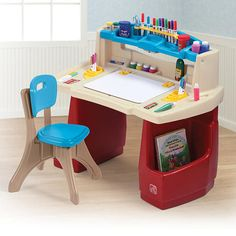 """Step2 Deluxe Art Master Desk with Chair - Step2 - Toys """"R"""" Us"""