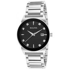 Reloj Bulova 96D121 Diamond Para Hombre