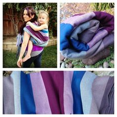 Exclusive Mermaid Cove Twill Weave Baby Wrap
