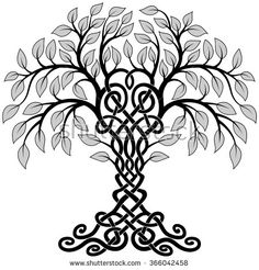 Celtic Tree Stock Vectors & Vector Clip Art   Shutterstock