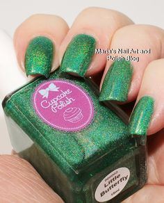 Marias Nail Art and Polish Blog: Cupcake Polish The Butterfly collection (partial) swatches