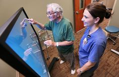 Not a game, screen aims to help patients speed up recovery (Omaha World-Herald)