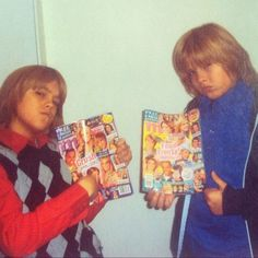 Back in the day, Dylan and Cole Sprouse couldn't get enough of M!