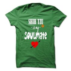 LIMITED EDITION SHIH TZU IS MY SOULMATE T-SHIRTS, HOODIES, SWEATSHIRT (19$ ==► Shopping Now)