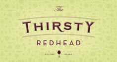 The Thirsty Redhead Branding and Identity Design by BRAIZEN