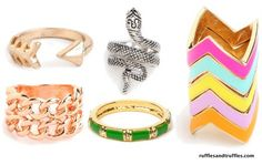 Fashion finds under $50 - jewelry from Baublebar