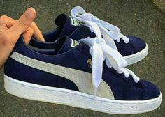 fc277b6261a These are a perfect replica of the first pair of Puma suedes I ever owned  back