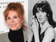 Actress Stefanie Powers - best known for the television series Hart to Hart.