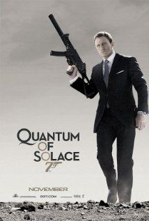 2008 - Quantum of Solace - Seeking revenge for the death of his love, secret agent James Bond sets out to stop an environmentalist from taking control of a country's valuable resource. #movies