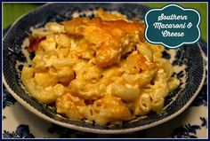 Sweet Tea and Cornbread: Traditional Southern Macaroni and Cheese!  No fake blue box!!!!!