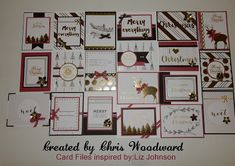 Welcome to my Blog: Silver & Gold PML 20 Christmas Cards