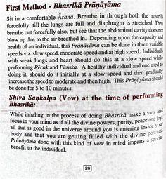 Bhastrika pranayama 1
