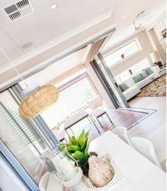 Comprar online Colgante de techo con pantalla de mimbre Colección NIUET Table Decorations, Furniture, Home Decor, Rustic Style, Ceiling Light Fixtures, Wall Sconces, Hanging Lamps, Standing Lamps, Decoration Home