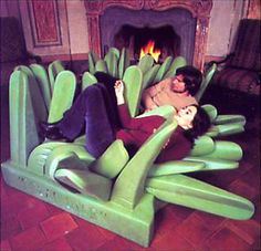 Pratone lounge chair by Gufram. Design: Ceretti, Derosso, Rosso - 1971.