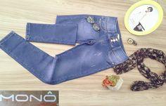 Não perca tempo. Confira as nossas novidades!  SEJA ÚNICO, SEJA MONÔ JEANS.  #Moda #Denim #JeansWear #Feminino #Conforto #Qualidade
