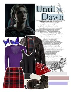 """Until Dawn;Sam (character inspiration)"" by kwiatekmarek ❤ liked on Polyvore featuring Topshop, Cruciani, H&M, Miu Miu, Oasis, Magaschoni, Johnstons of Elgin, Rock & Candy, Inspired and inspiration"
