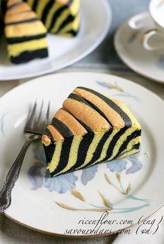 Zebra Ogura cake recipe (with video)