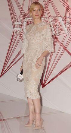 Four wedding dresses that echo Cate Blanchett's romantic style