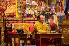 Sogyal Rinpoche in Lerab Ling