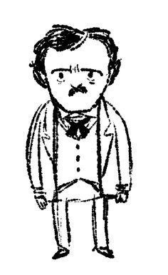 Wee Edgar Allan Poe- Kate Beaton