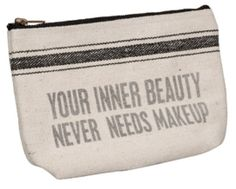 2lisasboutique - Inner Beauty Bag, $16.50 (http://www.2lisasboutique.com/inner-beauty-bag/)