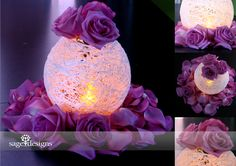 elegant purple and silverchristmas decorating ideas | ... AAAAAAAAA44/rijSjShkMV4/s1600/Elegant+Simple+DYI+Centerpiece+Idea.png
