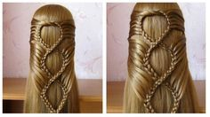 Hairstyle with braid - Simple Craft Ideas