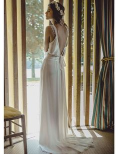 The Wedding Dress Detail That Makes for the Best Photos via @WhoWhatWear