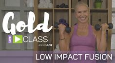 Join us for this Get Healthy U TV live workout, exclusive to those with GOLD membership! Chris Freytag will lead you through this fun low impact strength and cardio workout. Don't confuse low impact with low intensity. This will be an energetic workout using your total body that will get all of your muscles working...  Read more »